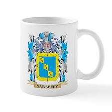 Sainsbury Coat of Arms - Family Crest Mugs