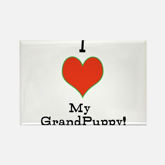 t-shirt for grandparents of dogs Magnets