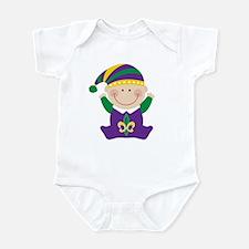 Mardi Gras Kids Holiday Body Suit