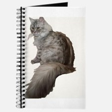 Unique Siberian cat Journal