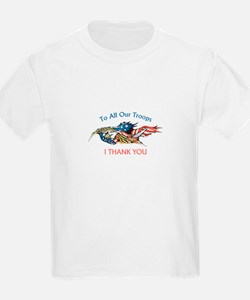 I THANK OUR TROOPS T-Shirt