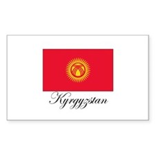 Kyrgyzstan - Flag Rectangle Decal