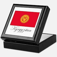 Kyrgyzstan - Flag Keepsake Box