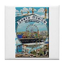 Santa Monica Tile Coaster