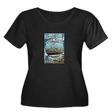 Santa Monica Plus Size T-Shirt