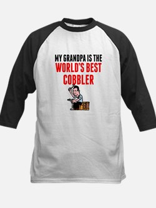 My Grandpa Is The Worlds Best Cobbler Baseball Jer