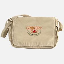 let food be thy medicine Messenger Bag