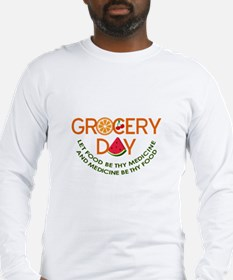 let food be thy medicine Long Sleeve T-Shirt