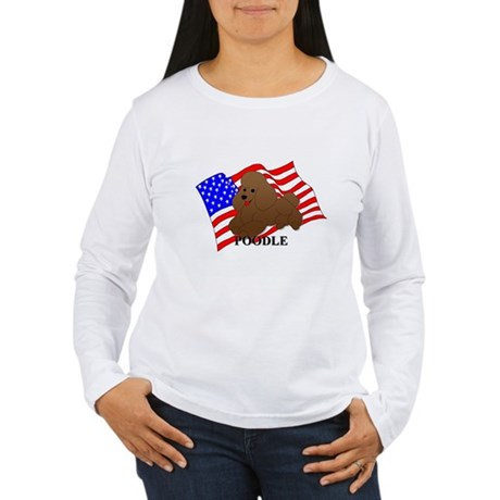 Poodle USA Women's Long Sleeve T-Shirt