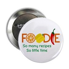 "so many recipes 2.25"" Button (10 pack)"