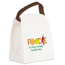 so many recipes Canvas Lunch Bag