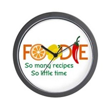 so many recipes Wall Clock