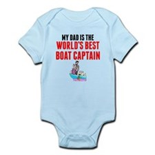 My Dad Is The Worlds Best Boat Captain Body Suit