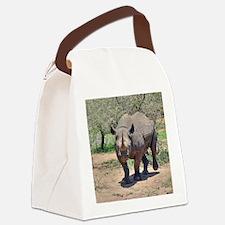 Rhinoceros Canvas Lunch Bag