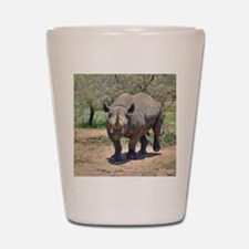 Rhinoceros Shot Glass