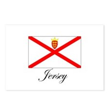 Jersey - Flag Postcards (Package of 8)