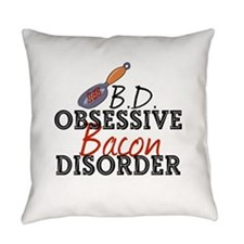 Funny Bacon Everyday Pillow