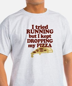 Lazy Pizza Lover T-Shirt