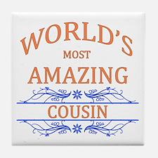 Cousin Tile Coaster