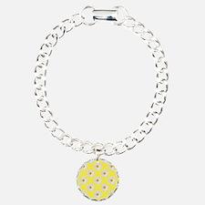 Daisy Flower Pattern Yel Bracelet