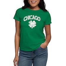 St Patricks Day Chicago Shamrock T-Shirt