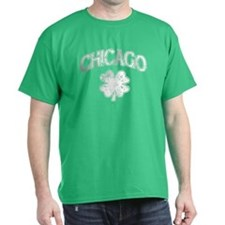 St Patricks Day Chicago Shamrock T-Shirt