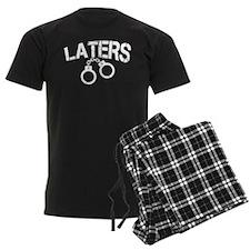 Laters Handcuffs Pajamas