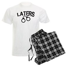 Laters Handcuffs Pajamas