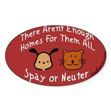 Funny Neuter Decal