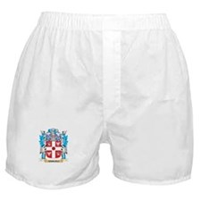 Samueli Coat of Arms - Family Crest Boxer Shorts