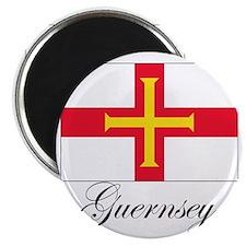 Gurnsey - Flag Magnet