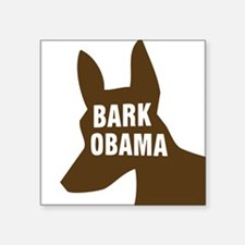 BarkObamaTransparent Sticker