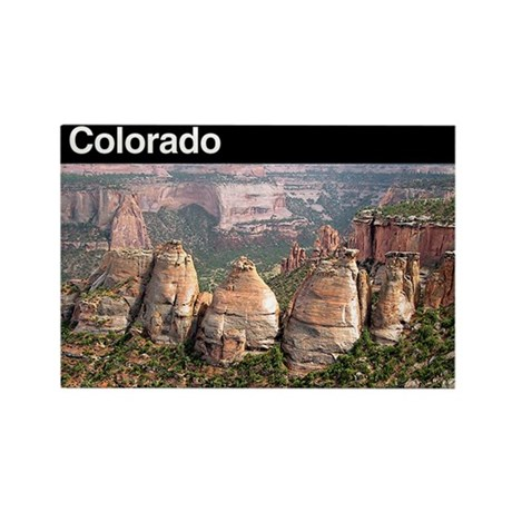 Colorado NM Rectangle Magnet (100 pack)