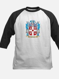 Samus Coat of Arms - Family Crest Baseball Jersey