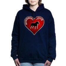 I LUV BOERBOEL.png Women's Hooded Sweatshirt