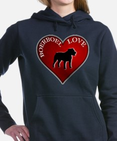 I LUV BOERBOEL.png Women's Hooded Sweatshirt