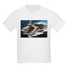 USS Kennedy Ship's Image T-Shirt