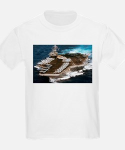 USS Kennedy Ship's Image T-Shirt