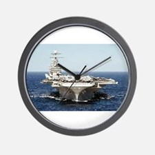 USS John Kennedy Ship's Image Wall Clock
