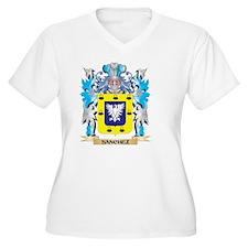 Sanchez Coat Plus Size T-Shirt