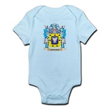 Sanchez Coat of Arms - Family Crest Body Suit