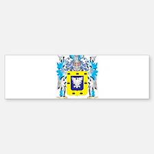Sanchez Coat of Arms - Family Crest Bumper Bumper Bumper Sticker