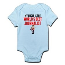 My Uncle Is The Worlds Best Journalist Body Suit
