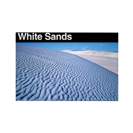White Sands NP Rectangle Magnet (100 pack)