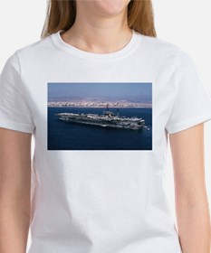 USS America Ship's Image Women's T-Shirt