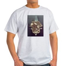 USS Kitty Hawk Ship's Image T-Shirt