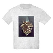 USS Kitty Hawk Ship's Image T-Shirt