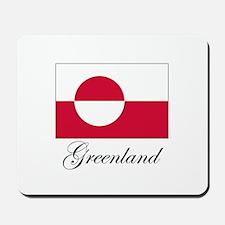 Greenland - Flag Mousepad