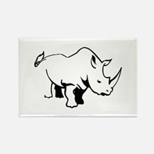 RHINO OUTLINE Magnets