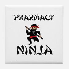 Pharmacy Ninja Tile Coaster